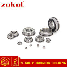 <b>ZOKOL F6804 ZZ bearing F6804ZZ</b> Flange <b>bearing</b> Deep Groove ...