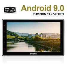 <b>Android 9.0 Car Stereo</b> | GPS Navigation | AutoRadio | Pumpkin