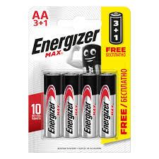 <b>Батарейка</b> алкалиновая <b>Energizer</b> Maximum AA/LR06 <b>3</b>+<b>1</b> шт. в ...