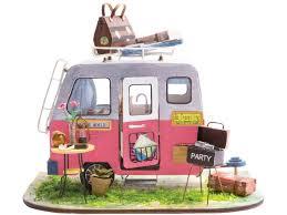 <b>Сборная модель DIY</b> House Домик на колесах DGM04 9-58-010639