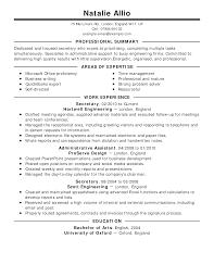resume example good resume example good resume printable