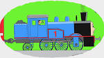 Раскраска про поезд мультик
