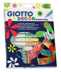 Купить набор <b>фломастеров Giotto Decor Metal</b> у официального ...