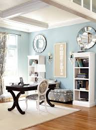 light blue home office wainscotingamericacom office wainscoting design avenue greene grey ladder storage office wall