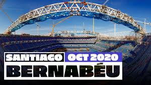 <b>Real Madrid's</b> new Santiago Bernabéu stadium works (October 2020)