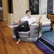 Купить <b>Надувное кресло</b> раскладное 200x102x64 см + подушка ...