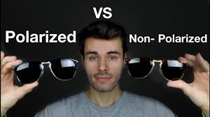 Polarized vs Non Polarized Sunglasses - YouTube