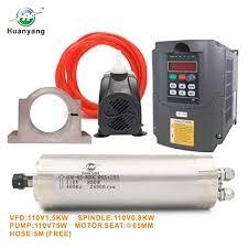 VFD CNC <b>Spindle Motor</b> Kits:110V 1.5KW VFD+110V <b>800W</b> 4 ...