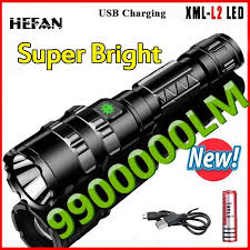 Hot Sale Outdoor <b>Use</b> High <b>Light</b> Mulfuntion Flashlight XM-L <b>L2 LED</b> ...