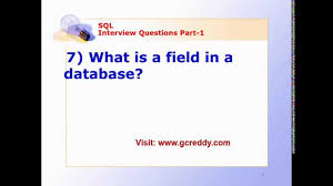sql interview questions part 1 sql interview questions part 1