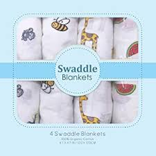 Muslin Swaddle Blankets - Soft Silky 100% Muslin ... - Amazon.com