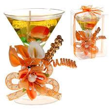 <b>Свеча</b> гель в <b>стекле</b> h=12,5 см <b>Фруктовый</b> коктейль, персиковый ...
