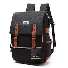 <b>Vintage</b> Laptop <b>Backpack</b>,15 inch Laptop <b>Backpack</b> Puersit Durable ...