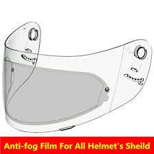 <b>Generic motorcycle helmet anti fog</b> film for agv k4 k3 sv for shoei for ...