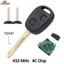 2 кнопки дистанционного <b>ключа</b>, <b>брелок</b> без <b>ключа</b> для <b>Toyota</b> ...