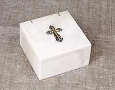<b>Шкатулка для хранения</b> ладана и святынь. С крестом. Из ...