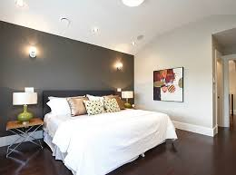 view in gallery grey accent wall in a white bedroom bedroom grey white bedroom
