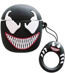 KHR Back Cover for Wireless Airpods Pro Cute Venom <b>Silicone</b> ...
