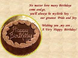 Happy Birthday To Grown Son   Birthday Wishes for Son - Birthday ... via Relatably.com