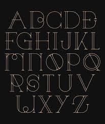 29 eye catching art deco fonts art deco inspired pinterest