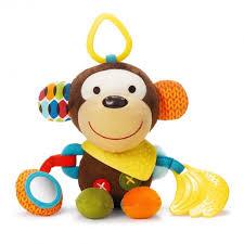 Купить <b>подвесная игрушка Skip</b>-<b>Hop</b> развивающая Bandana Pals ...