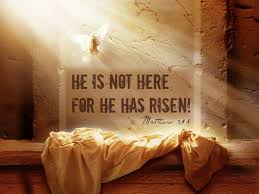 Image result for Easter He is Risen