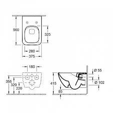 <b>Villeroy&Boch Venticello</b> 4611R0R1 <b>унитаз</b> подвесной купить в ...