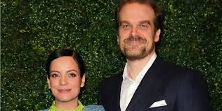 Here's why fans think <b>Lily Allen</b> and David Harbour are engaged ...