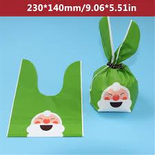50PCS Christmas Apple <b>Bag Kawaii</b> Biscuits Dim Sum Gift Jewelry ...