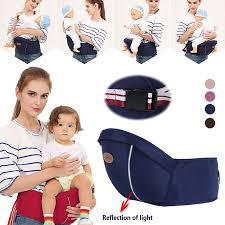 <b>Baby Carrier Waist Stool</b> Walker Kids Sling Hold Hipseat Belt Infant ...