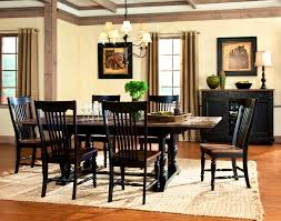 Two Toned Dining Room Sets Build Formalbeauteous Gramercy Park Piece Rectangular Top Trestle