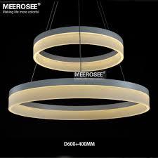 <b>LED Round Chandelier Modern</b> Acrylic Lamp Light for Dinning ...