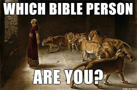 Which Bible Person Are You? Mary: You're the friend of everyone ... via Relatably.com