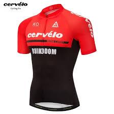 Shop <b>Ropa ciclismo hombre</b> 2018 pro team Cervelo summer Quick ...