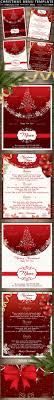 christmas menu template by oloreon graphicriver christmas menu template restaurant flyers