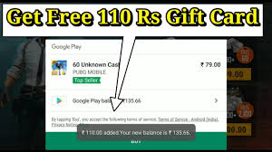 Beast way to get free gift card of google play for pubg mobile season ...