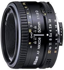 <b>Nikon</b> 2137 <b>AF Nikkor</b> 50 mm <b>F/1.8 D</b> FX Full Frame Prime: Amazon ...