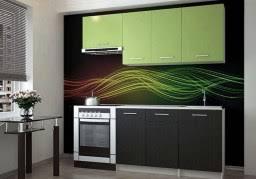 <b>Недорогие кухни зеленого</b> и салатового цвета от производителя ...