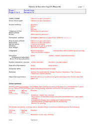 a written cv doc tk a written cv 23 04 2017