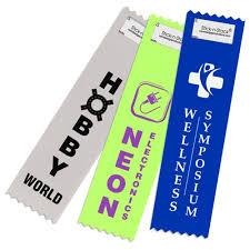 <b>Custom Vertical</b> Ribbons - <b>Name</b> Badge Productions