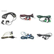Headphone <b>Cable Braided Wiring In</b> Ear <b>Plating</b> Headset Line K ...