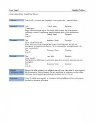 microsoft resume templates free ms word resume templates