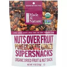 Made In Nature <b>Organic Nuts Over Fruit</b>