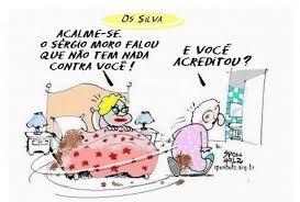 Resultado de imagem para Moro e Lula: charges