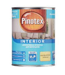 Антисептик <b>Pinotex Interior</b> декоративный для дерева ...