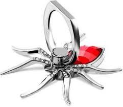Pankreeti Luxury <b>Spider Metal Bling</b> 360 Degree Rotate Finger Ring ...