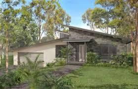 Split level house plan Bedroom Sloping Land House Plansplit level house plan