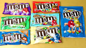 M&M's in different Flavors