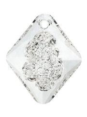 Подвеска дизайнерская в оттенке <b>Crystal</b>, размер 26 мм ...