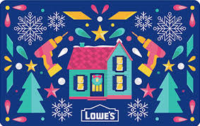 Lowe's Gift Cards - Home Improvement, Renovation & Hardware Store